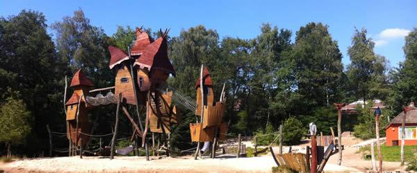 Dichtbij vakantieparken