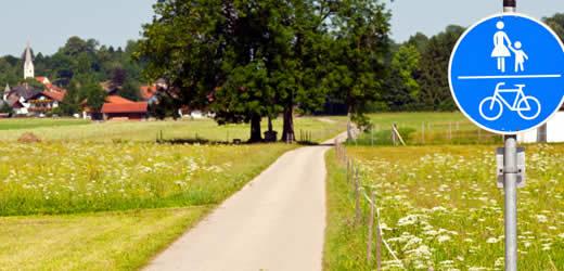 Wandelen en fietsen in Duitsland