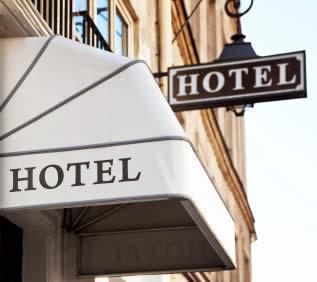 Hotel dichtbij