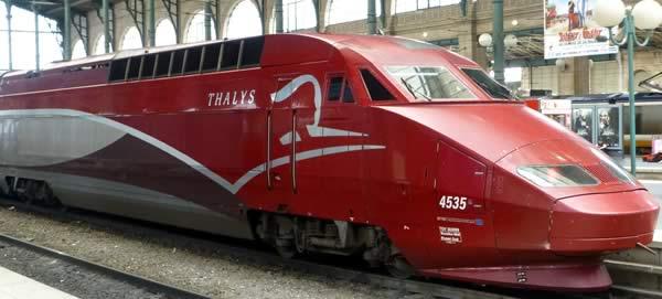 Thalys stedentrip