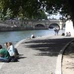 Parijs in het voorjaar