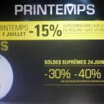 Zomeruitverkoop Parijs