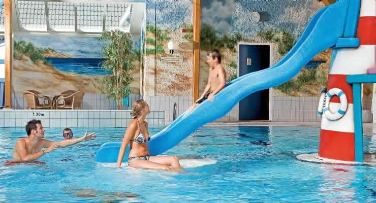 Zwembad en faciliteiten Landal Sluftervallei