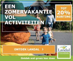 Aanbiedingen met korting Landal 2019