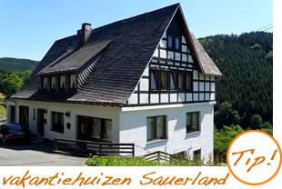 Vakantiehuizen in het Sauerland