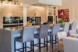 Vakantiehuis met luxe keuken