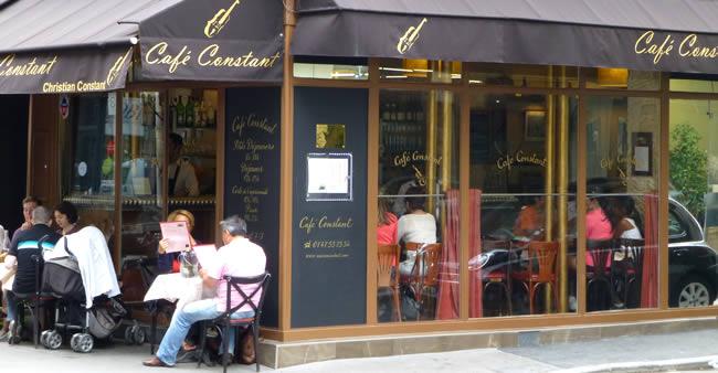 Lekker plekje in Parijs