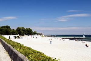 Strand en zee in Denemarken