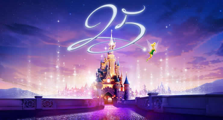 25 jaar Disneyland Paris