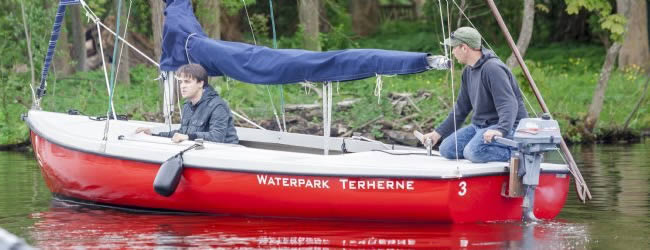 Huur een boot op Landal Waterpark Terherne