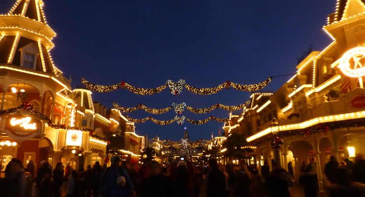 Disneyland Paris met kerst