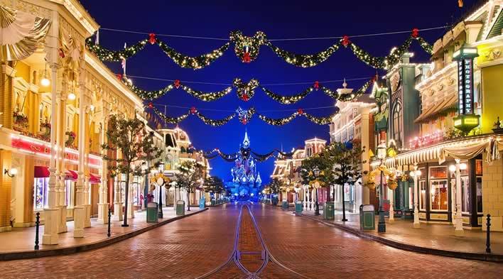 Korting Kerst in Disneyland Paris