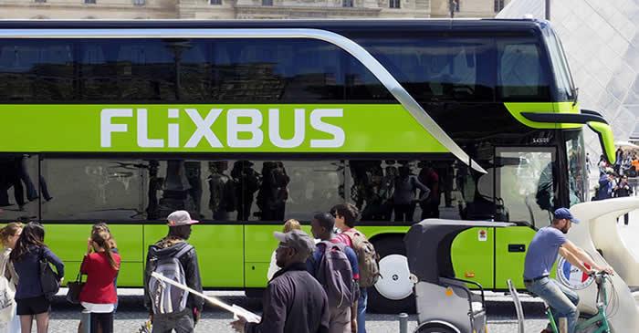 Comfortabel met de Flixbus naar Parijs