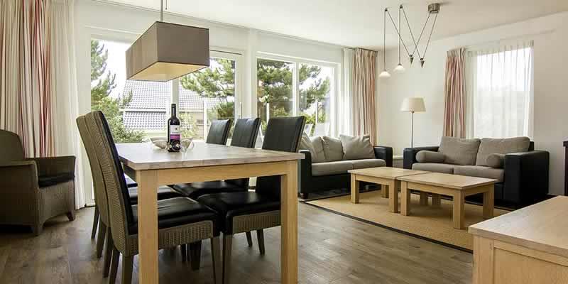 Beach Park Texel luxe villa's