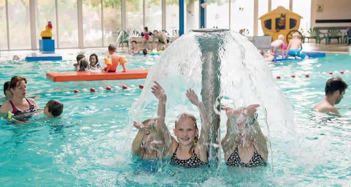 Zwembad en omgeving Landgoed 't Loo