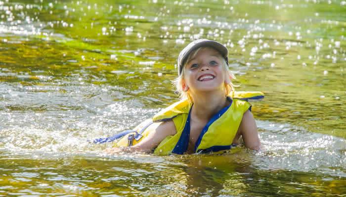 Zwemmen en kanoën Franse Ardennen