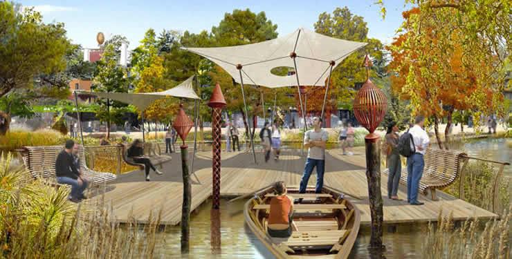 Aqualagon en Promenade du Lac Villages Nature