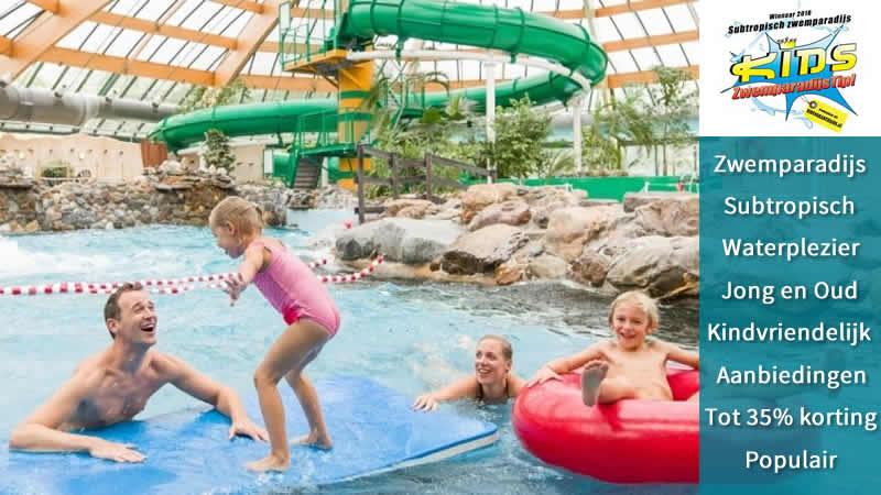 Het Vennebos en De Lommerbergen met Subtropisch Zwembad tot 35% korting