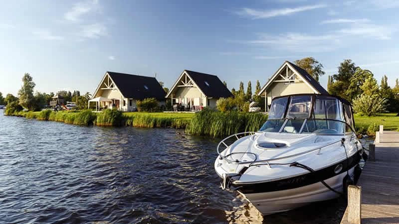 Luxe vakantiehuizen en waterwoningen