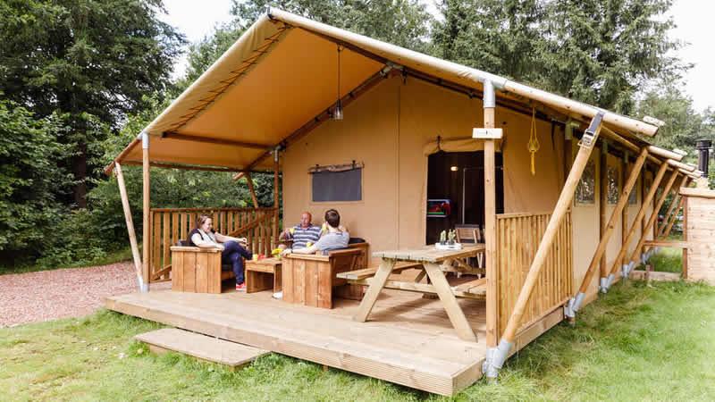 Camping RCN de Roggeberg in Friesland