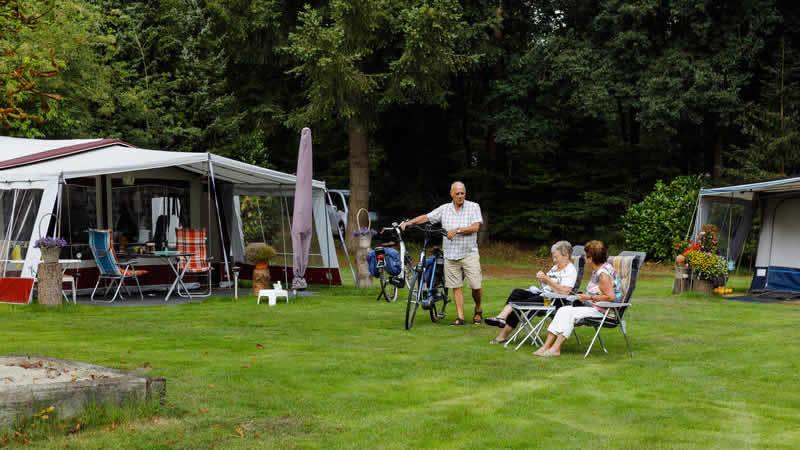 Staanplaatsen op camping RCN de Jagerstee