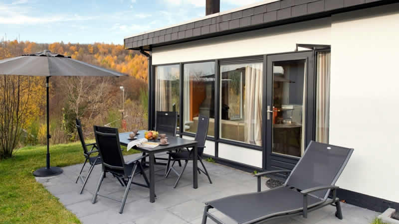Luxe bungalows op Landal Wirfttal