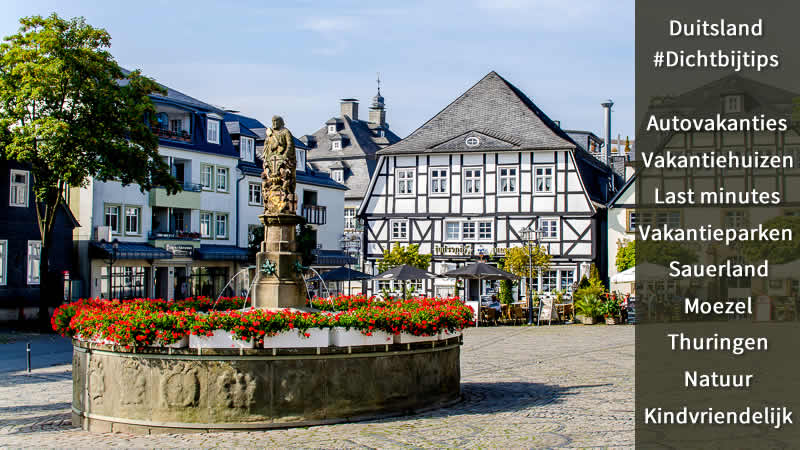 Dichtbij Vakanties Duitsland