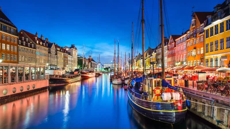 Dichtbij op vakantie in Denemarken