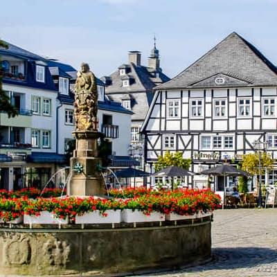 Dichtbij op vakantie in Duitsland