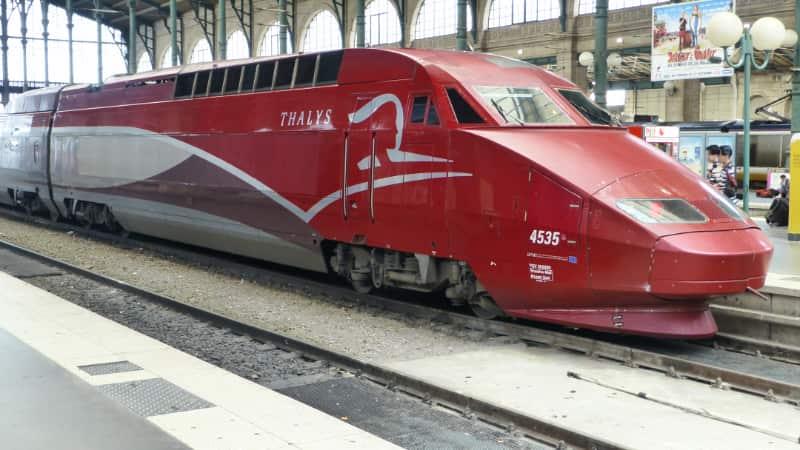Dichtbijopvakantie met de trein, Thalys of ICE
