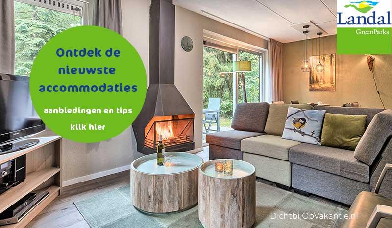 Korting Landal Vakantieparken tot 30% en soms meer. Bekijk ook de vernieuwde vakantiebungalows.