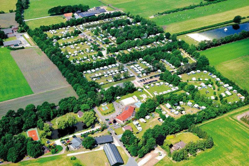 luxe vijfsterrencamping in Twente