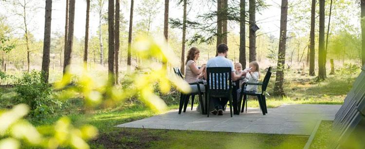 Roompot vakantieparken in een bos Nederland