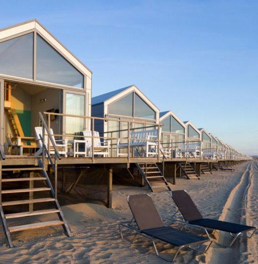 Vakantiepark aan het strand Noord-holland