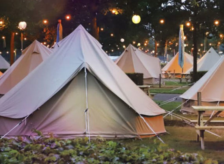 Pop up camping Toverland